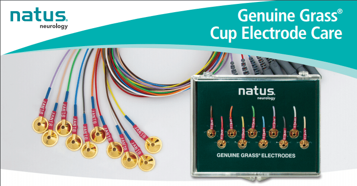 Genuine Grass Gold Cup Electrode Care English